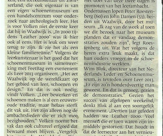 20131028- Brabants Dagblad 28.10.13