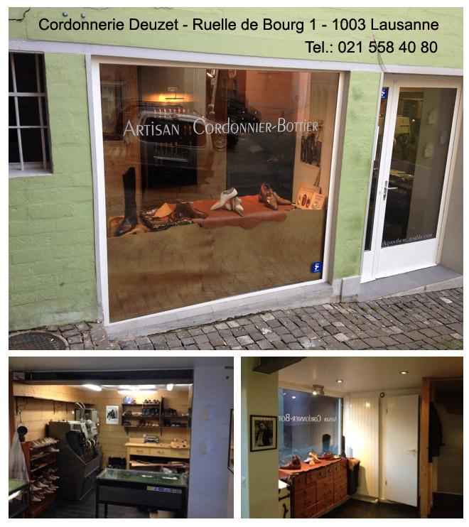Ruelle de Bourg 1 1003 Lausanne Tel 021 588 40 80